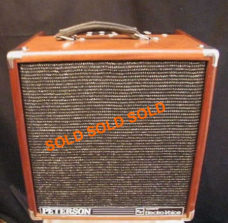 peterson guitar amp p120g great amps. Black Bedroom Furniture Sets. Home Design Ideas