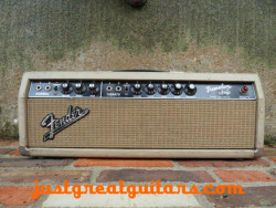 Fender Tremolux Amp White Tolex 1964