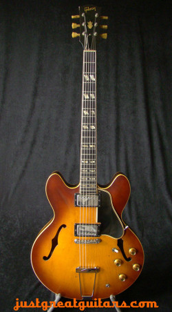 Gibson ES-335 Iced Tea Sunburst 1966