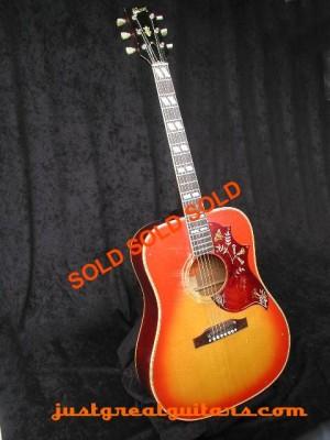Gibson_Hummingbird_40sold