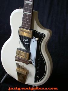Supro-Dualtone-3549, vintage guitar,