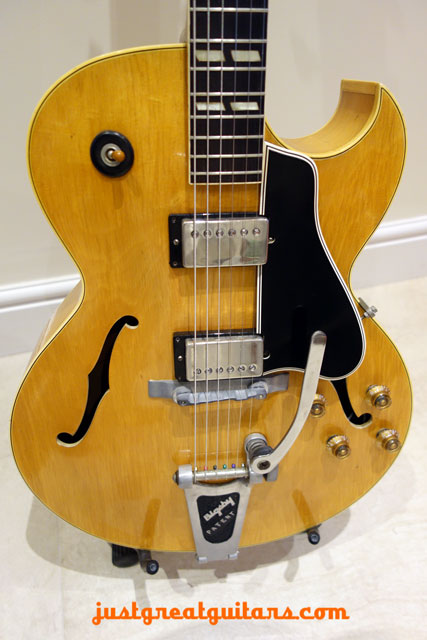 Gibson ES-175N with Bigsby