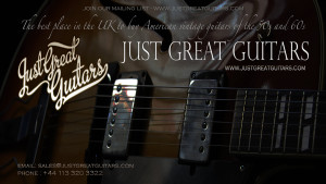 Vintage Guitars UK, Just Great Guitars, vintage Gibson guitars, American classic guitars ,